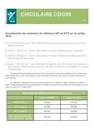 Actualisation des montants de référence IAT et IFTS au 1er ... - CDG90