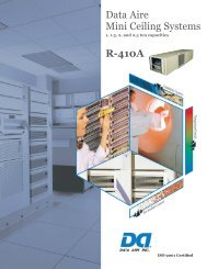 Mini Ceiling System - Data Aire