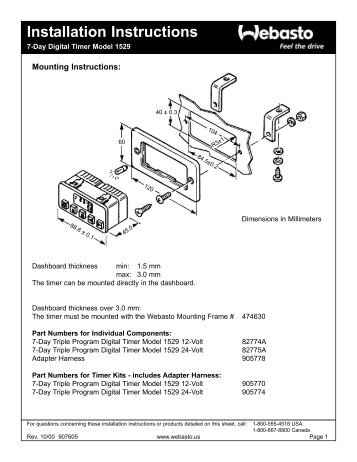 ZE-NC2010 Installation instructions CAN-Bus update V20