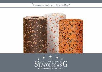 """Übungen mit der """"Foam-Roll"""" - St. Wolfgang"""