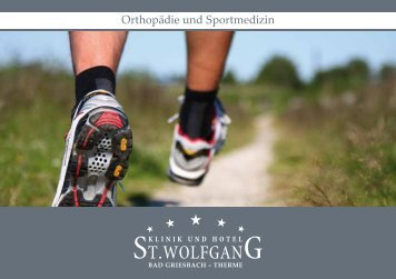 Orthopädie und Sportmedizin - St. Wolfgang