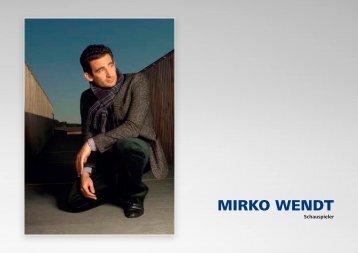MIRKO WENDT - Style & Class