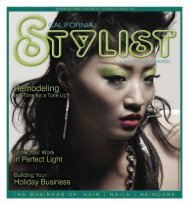 november 009 - Stylist and Salon Newspapers