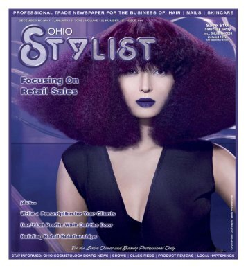 December - Stylist and Salon Newspapers