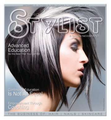 September - Stylist and Salon Newspapers
