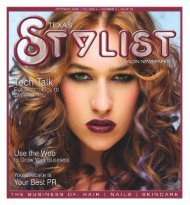 october 2009 - Stylist and Salon Newspapers