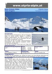 Rotes Kinkele 2763m Villgrater Berge