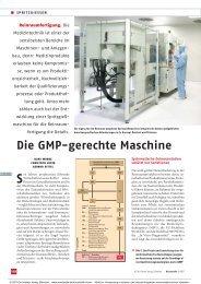 Die GMP-gerechte Maschine - Engel Austria