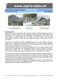 Jotunheimen Nationalpark Kaledonisches Gebirge Trekking ...