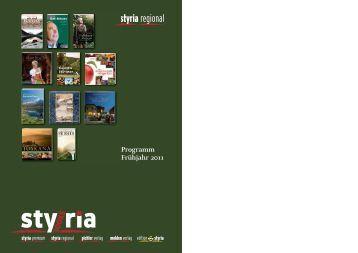 Programm Frühjahr 2011 - Styria