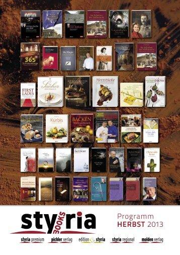 PDF Download Styriabooks Gesamtprogramm HERBST 2013