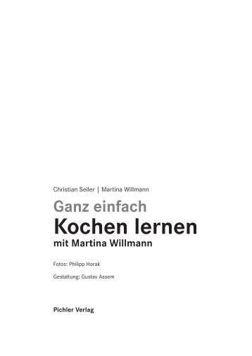 Ganz einfach Kochen lernen mit Martina Willmann - Styria