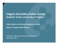 REPORT for PRESS RELEASE Secondary Suites - Students' Union ...