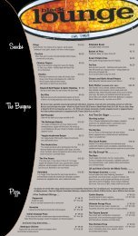 Fall Menu BL 2010 revised.indd - Students' Union
