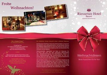 Weihnachtsfeiern in Garmisch-Partenkirchen