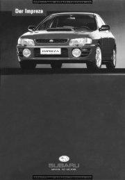 Impreza Turbo (German) - Subaru Impreza