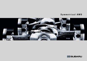 Symmetrical AWD - Subaru Impreza