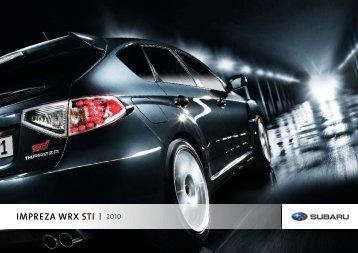 IMPREZA WRX STI 2010 - Subaru Canada