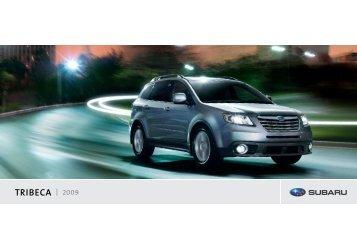 TRIBECA 2009 - Subaru Canada