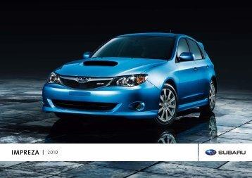 IMPREZA 2010 - Subaru Canada