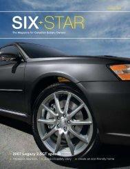 2007 Legacy 2.5GT spec.B - Subaru Canada