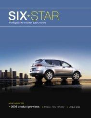 2006 product previews tribeca - new york city - Subaru Canada