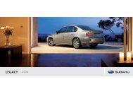 LEGACY 2008 - Subaru Canada
