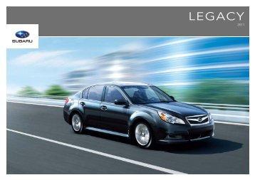 LEGACY - Subaru Canada