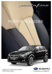 Subaru XV 4x4 mit exklusivem Portofino-Leder (PDF, 988 kb)