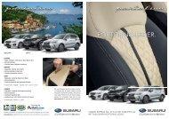Portofino-Leder (PDF, 3128 kb) - Subaru