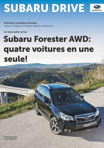 SUBARU DRIVE N° 01/13 (PDF, 5288 kb)
