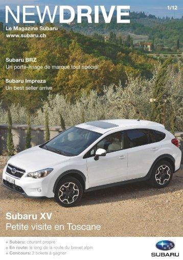 Télécharger le magazine (PDF, 4676 kb) - Subaru