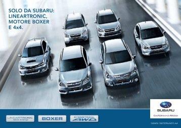 Beilage_Lineartronic_141212_italienisch - Subaru