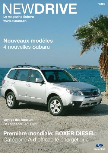 NEWDRIVE Nr. 01/08 - Subaru