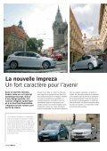 La nouvelle Impreza Beaucoup de caractère pour l'avenir - Subaru - Page 4