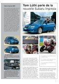 La nouvelle Impreza Beaucoup de caractère pour l'avenir - Subaru - Page 7
