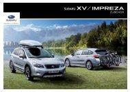 ZUB13XV/Impreza-D - Subaru