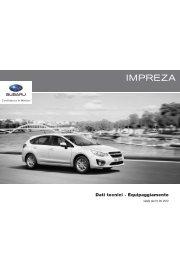 Subaru Impreza MY'13 (PDF, 298 kb)