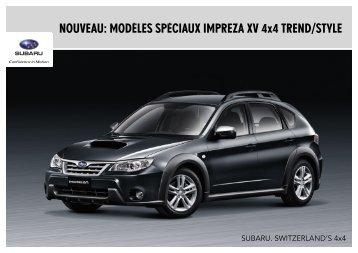 Impreza XV AWD - Subaru