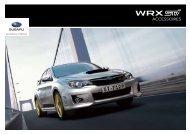WRX STI | ACCESSOIRES - Subaru