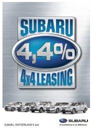 Il Leasing 4x4 - Subaru