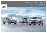 LEGACY / OUTBACK ACCESSOIRES - Subaru