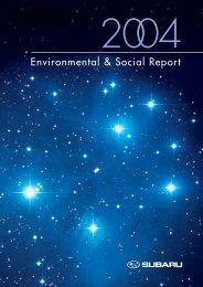 Environmental & Social Report - Subaru