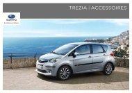 TREZIA | ACCESSOIRES - Subaru