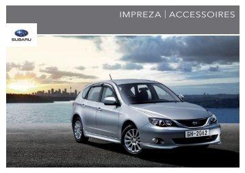 IMPREZA | ACCESSOIRES - Subaru