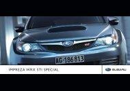 IMPREZA WRX STI SPECIAL - Subaru