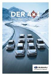 Der 4x4 für die Schweiz (PDF, 9026 kb) - Subaru