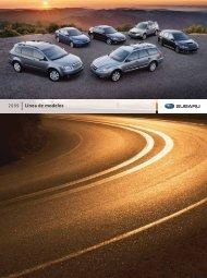 Línea de Modelos 2009 - Subaru of America