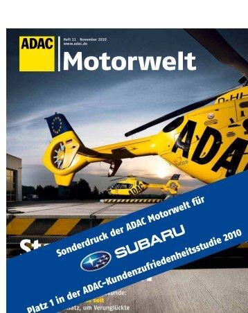 Startklar zum Helfen - Subaru