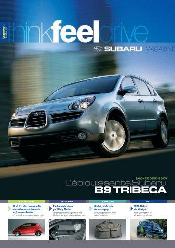 Edition n°01 - Subaru